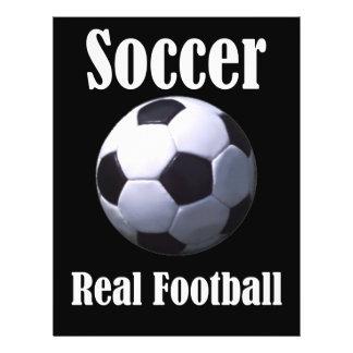 Soccer Real Football Flyer
