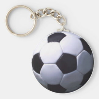 Soccer Real Football Keychain