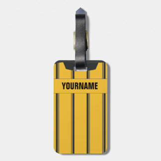 Soccer Ref Luggage Tag