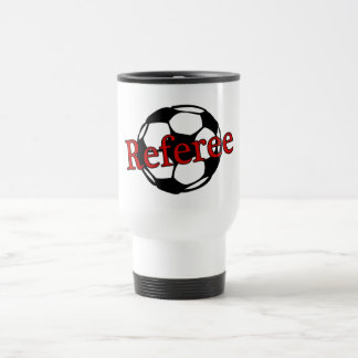 Soccer Referee Travel Mug