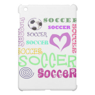 Soccer Repeating iPad Mini Cover