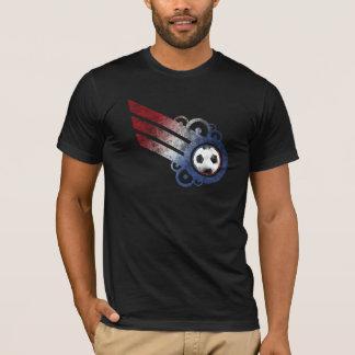 Soccer Retro Stripe USA T-Shirt