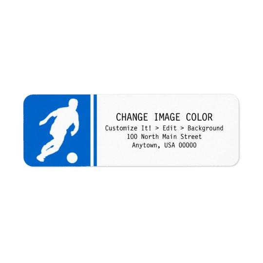 Soccer - Return Address Label