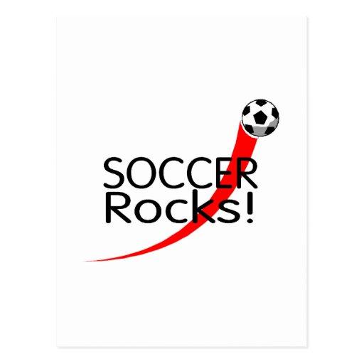 Soccer Rocks Postcards