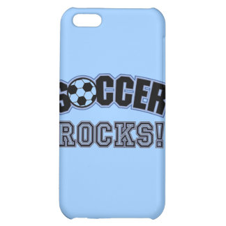 Soccer Rocks T shirts and Gifts Case For iPhone 5C