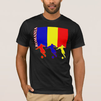 Soccer Romania Dark T-Shirt