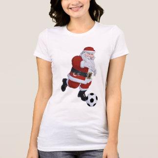 Soccer Santa Tee Shirt
