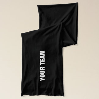 Soccer scarf | Personalizable sports team design