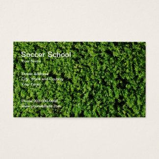 Soccer School Business Card