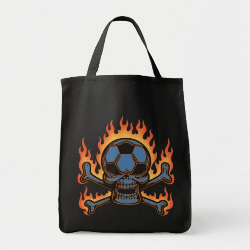Soccer Skull III Bag
