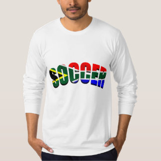 Soccer South Africa flag Soccer fans gifts Shirts