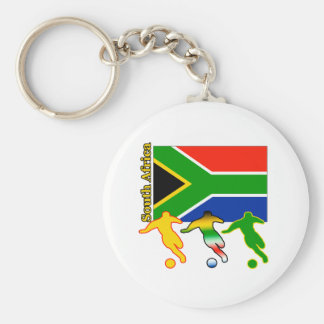 Soccer South Africa Key Chains