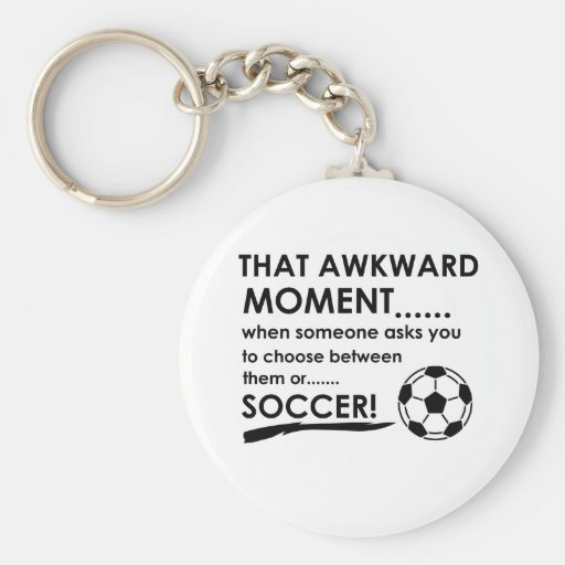 Soccer Sports Designs Key Chains