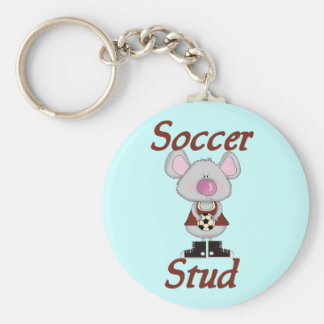 Soccer Stud Tshirts and Gifts Key Chains