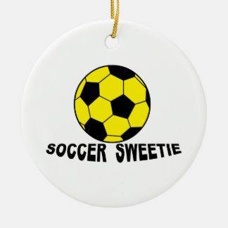 Soccer Sweetie Christmas Ornaments