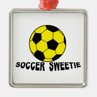 Soccer Sweetie Christmas Tree Ornaments