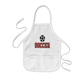 Soccer T Shirts and Gifts Kids Apron