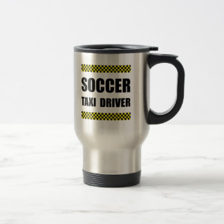 Soccer Taxi Driver Stainless Steel Travel Mug