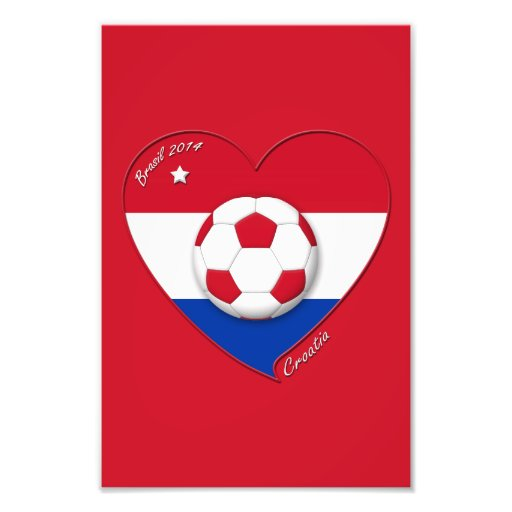 "Soccer Team ""CROATIA"". Soccer of the Croatia 2014 Photo"