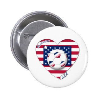 """Soccer Team """"U S A """" Soccer of the United States Pin"""
