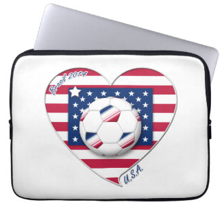 "Soccer Team ""U.S.A."" Soccer of the United States Computer Sleeve"