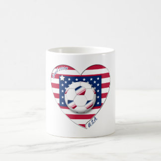 "Soccer Team ""U.S.A."" Soccer of the United States Mug"