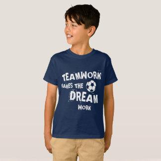 Soccer Teamwork Kids T-Shirt
