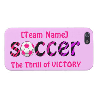 Soccer ~ The Thrill of VICTORY Case For iPhone 5