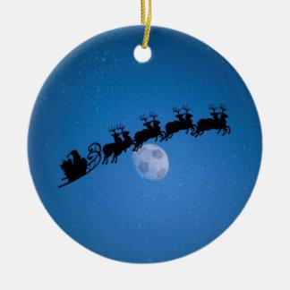 Soccer Theme Christmas Tree Ornament