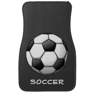 Soccer-Themed Car Mats Floor Mat