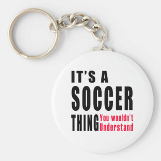 Soccer Thing Design Key Chain