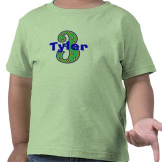 Soccer Third Birthday Boy Shirt