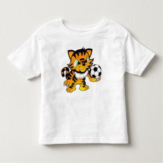 Soccer Tiger Toddler T-Shirt