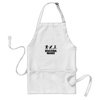Soccer Wars for world cup Adult Apron