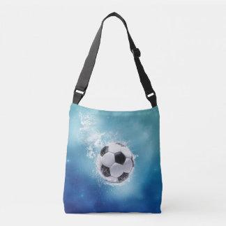 Soccer Water Splash Cross Body Bag