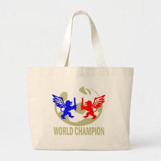 SOCCER WORLD CHAMPION LIONS BAG