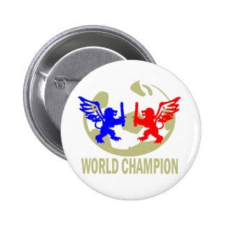 SOCCER WORLD CHAMPION LIONS PIN