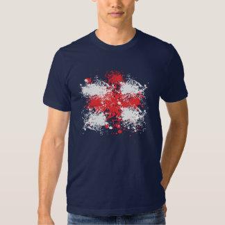 Soccer World Cup: England Flag Tee Shirts