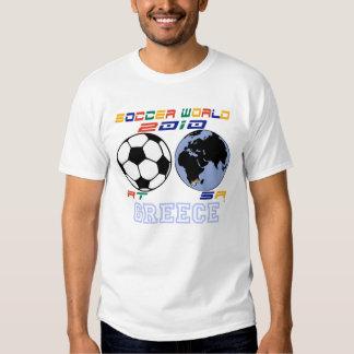 SOCCER WORLD Greece Tee Shirt