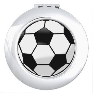 Soccerball Compact Mirror
