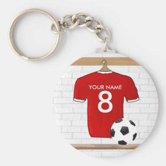 soccerchangingroom2 key chain