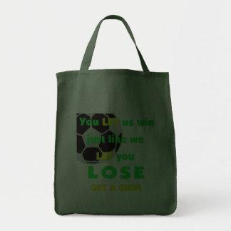 SoccerChick Let Canvas Bag
