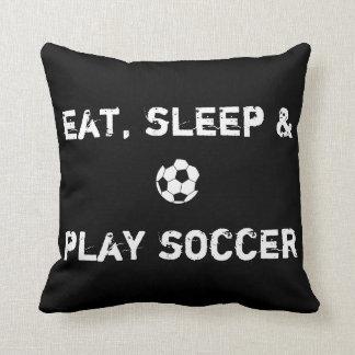 Soccerholic Pillow 16x16