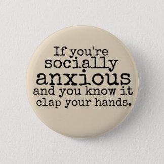 Social Anxiety Disclaimer Pin