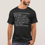 Social Anxiety T-shirt 2: Typo corrected