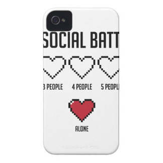 Social Battery 2 iPhone 4 Case