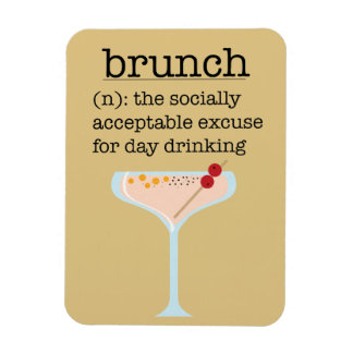 Social Brunch Magnet