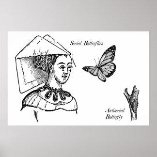Social Butterflies Poster