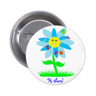 Social Butterfly 6 Cm Round Badge