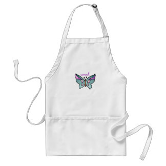 social butterfly aprons